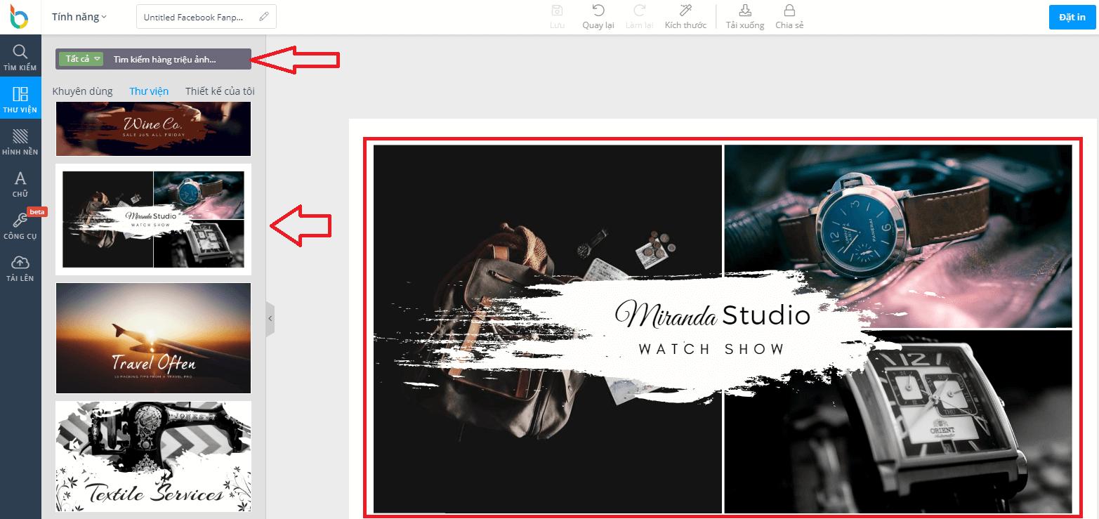 thiết kế quảng cáo không cần đồ họa