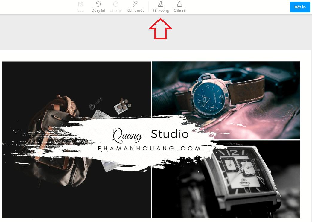 thiết kế quảng cáo không cần biết đồ họa