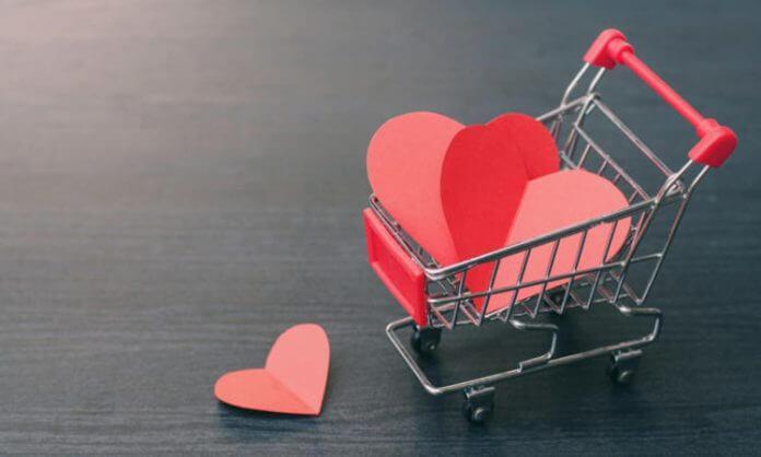 trái tim khách hàng