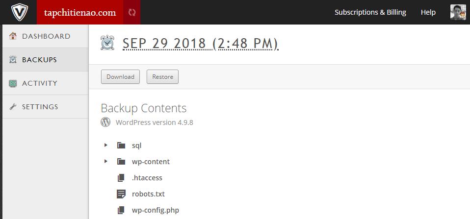 VaultPress là gì