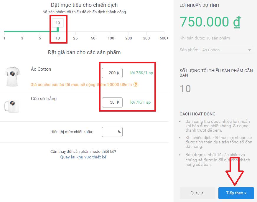 Hướng dẫn Kiếm tiền với Printub