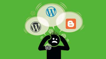 nên chọn blogger hay wordpress