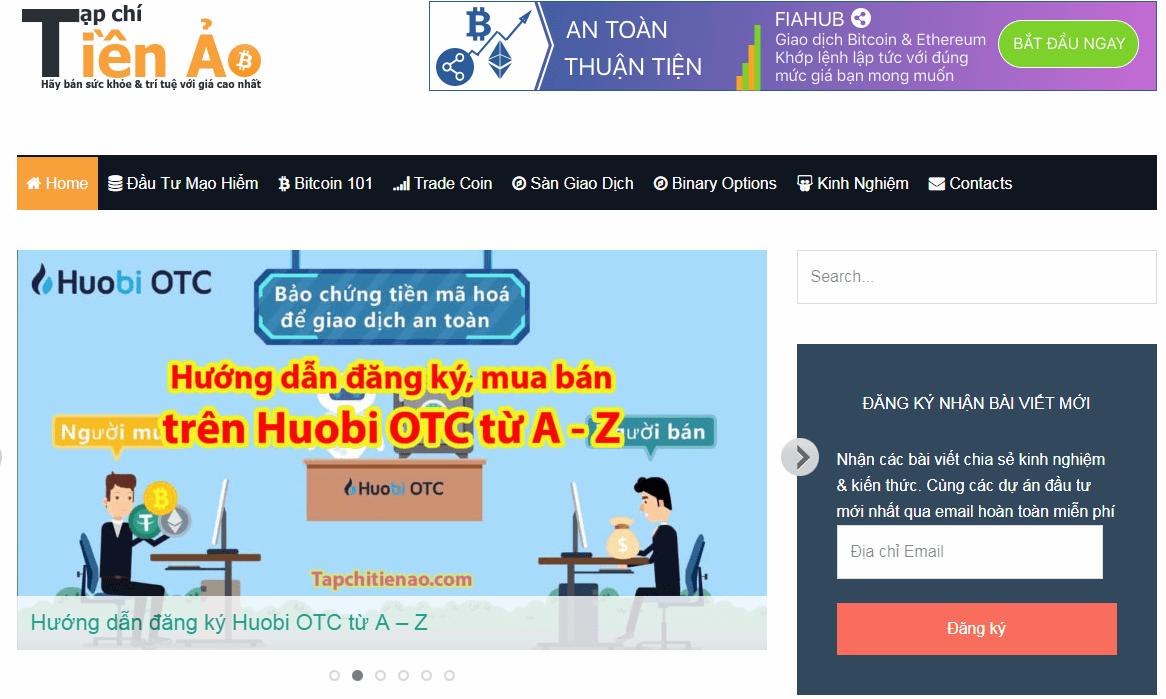 Blog Tạp Chí Tiền Ảo