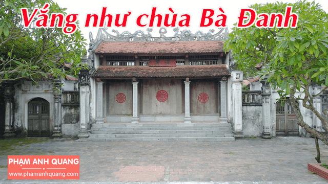 Khám phá chùa Bà Đanh - Hà Nam