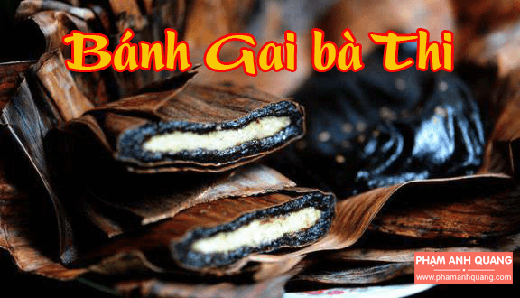 Bánh Gai bà Thi - Đặc sản Nam Định